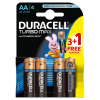 Baterie Duracell Turbo Max AA/LR6 3+1szt/op
