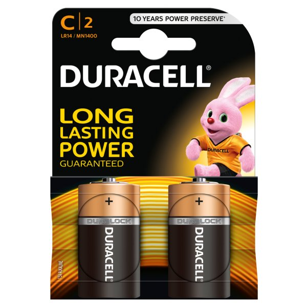 Baterie Duracell Basic LR14/2szt