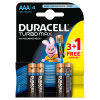 Baterie Duracell Turbo Max AAA/LR03 3+1szt/op