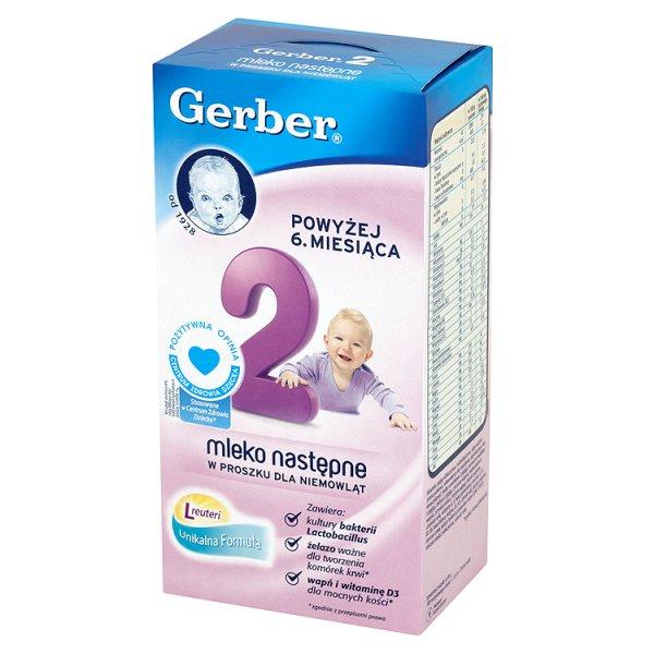 Mleko Gerber 2 następne