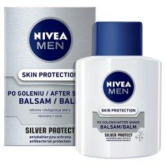 Balsam Nivea Silver Protect po goleniu