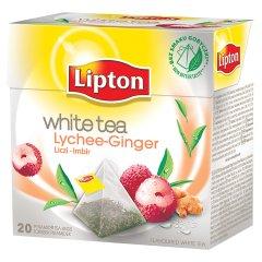Hebrata Lipton biała z liczi i imbirem 20*1,7g
