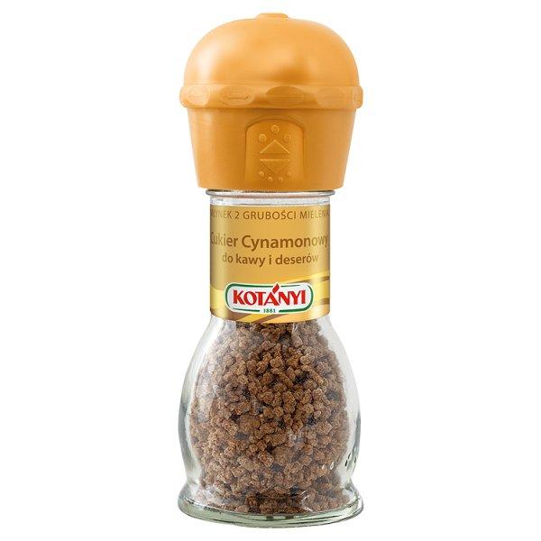 Kotányi Młynek Cukier cynamonowy do kawy i deserów 37 g