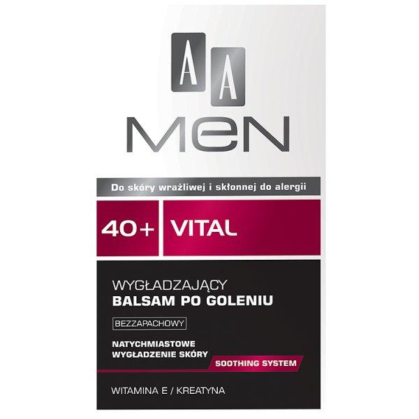 Balsam AA men Wygładzający  po goleniu 40+