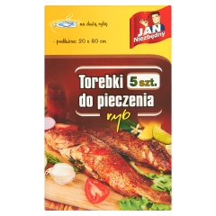 Torebki do pieczenia ryb Jan Niezbędny
