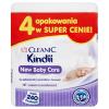 Chusteczki Cleanic Kindii New Baby Care 4x60 sztuk