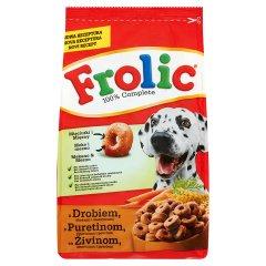 Karma Frolic sucha z drobiem,warzywami i zbożem dla psa