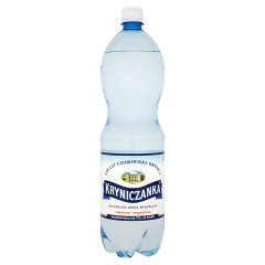 Kryniczanka Naturalna woda mineralna wysokonasycona CO2 1,5 l