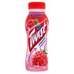 Jogurt Bakoma Twist malinowy