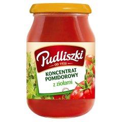 Koncentrat pomidorowy Pudliszki z ziołami