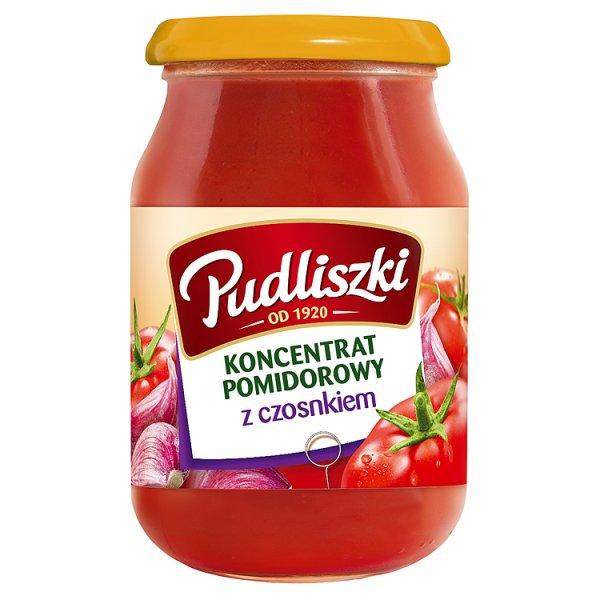 Koncentrat pomidorowy Pudliszki z czosnkiem
