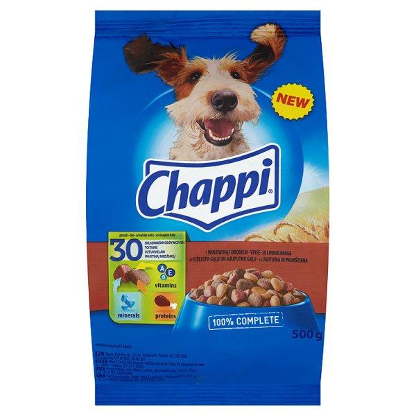 Karma Chappi z wołowiną i drobiem (P)