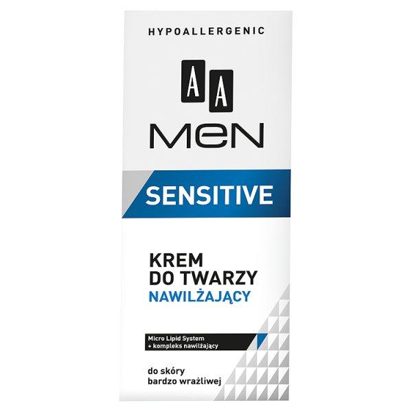 AA Men Sensitive Krem do twarzy nawilżający