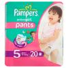 Pieluchomajtki Pampers Active Girl Pants Pieluszki, rozmiar 5, 11-18kg