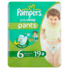 Pieluchomajtki Pampers Active Boy Extra Large