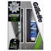 Gillette zestaw 2014 maszynka mach3 sensitive 1wkł+żel series 75ml