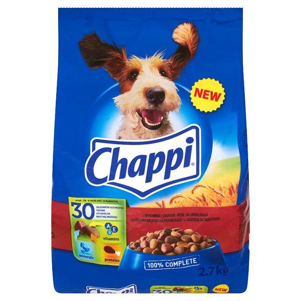 Karma Chappi z wołowiną i drobiem