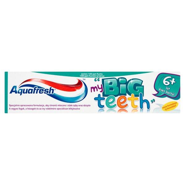 Aquafresh My Big Teeth Pasta do zębów dla dzieci 6+ lat 50 ml