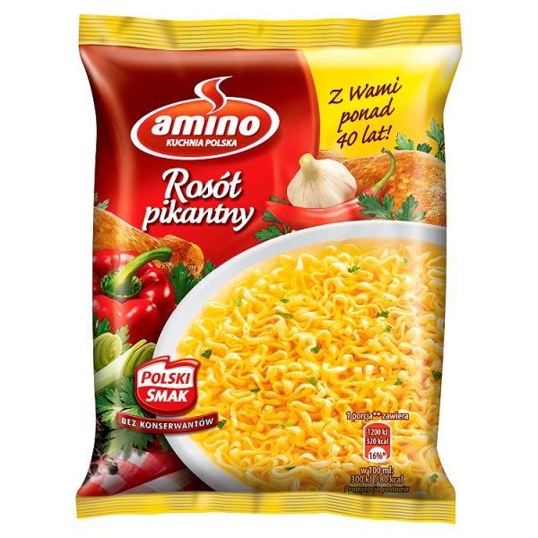 Rosół z kury pikantny amino