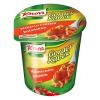 Gorący kubek Knorr makaron z Sosem bolońskim