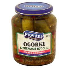 Ogórki Provitus hot chili