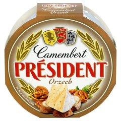 Ser Camembert President Orzech