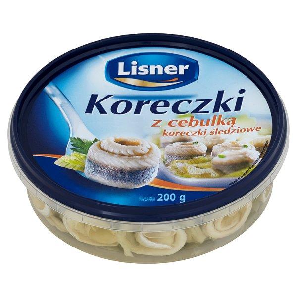 Przysnack Lisner koreczki śledziowe z cebulką