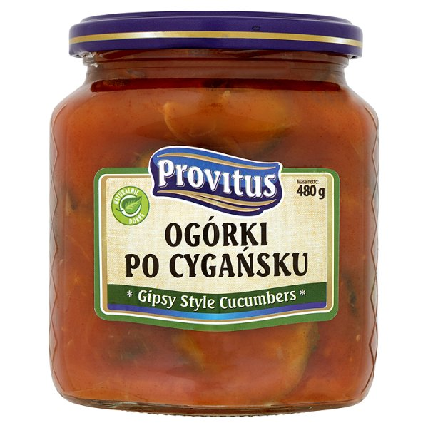 Provitus Ogórki po cygańsku 480 g