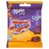 Cukierki Milka Lila Stars Daim Snax czekoladowe z karmelem