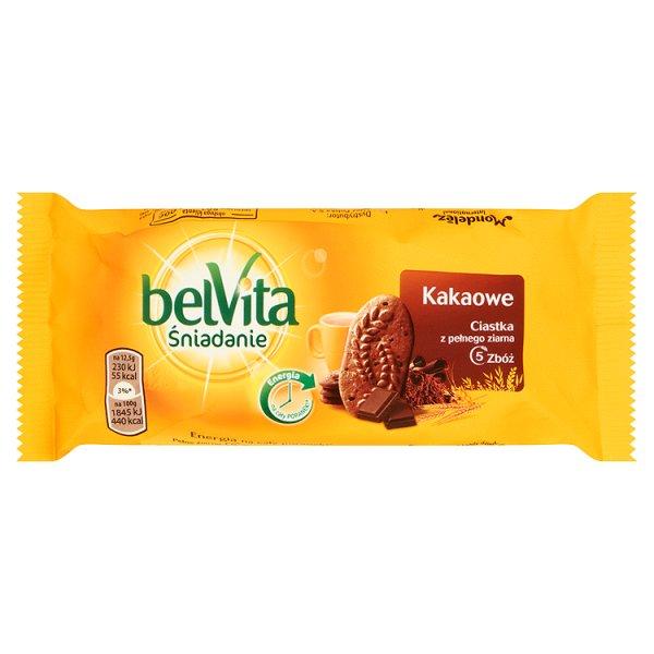 Ciastka Belvita kakaowe