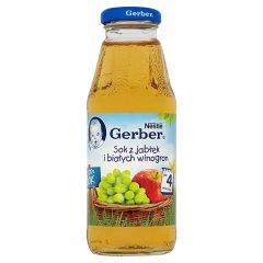 Sok Gerber 100% jabłko-białe winogrona