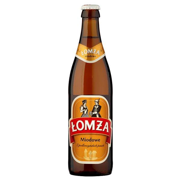 Łomża Miodowe Piwo jasne 500 ml
