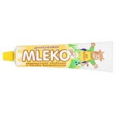 SM Gostyń Mleko zagęszczone słodzone o smaku karmelowym 150 g