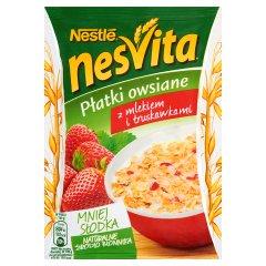 Płatki Nesvita z truskawkami
