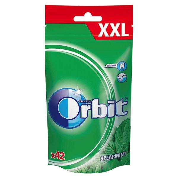 Orbit Spearmint XXL Guma do żucia bez cukru 58 g (42 drażetki)