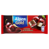 Czekolada Alpen Gold gorzka wiśniowa