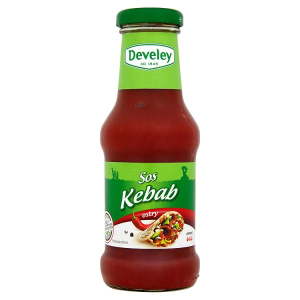 Sos Develey kebab ostry