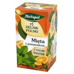 Herbatka Zielnik Polski mięta z pomarańczą 20*1,2g