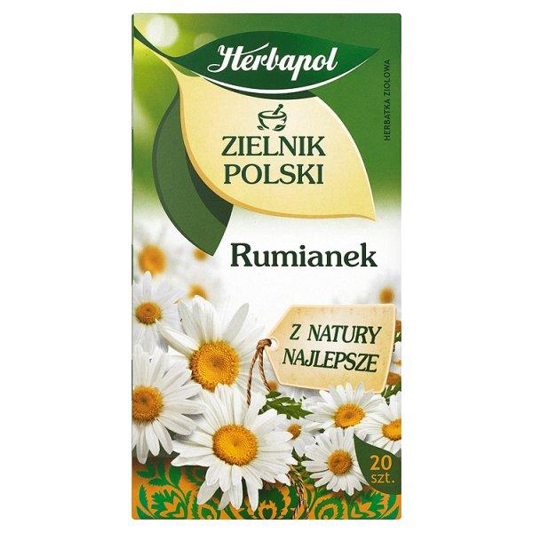 Herbapol Zielnik Polski Rumianek Herbatka ziołowa 30 g (20 saszetek)
