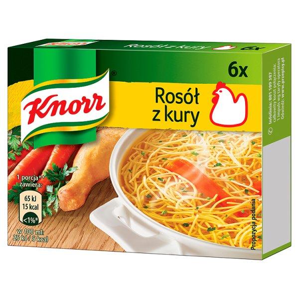 Knorr Rosół z kury 60 g (6 kostek)