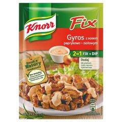 Knorr Fix Gyros z sosem paprykowo-ziołowym 38 g