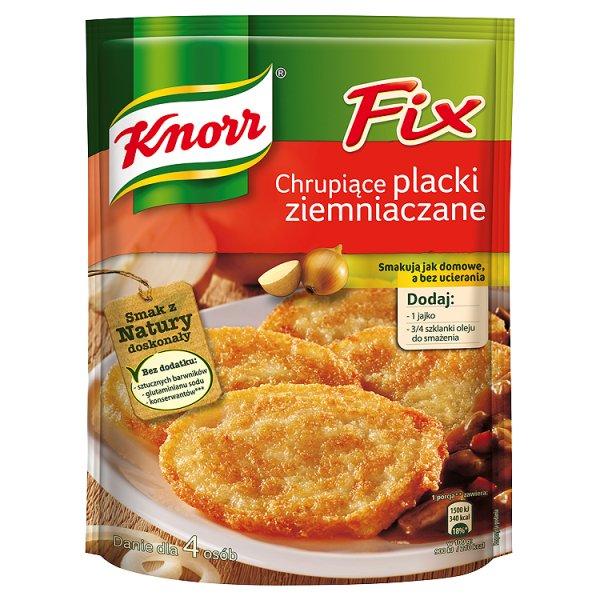 Fix Knorr Chrupiące Placki ziemniaczane