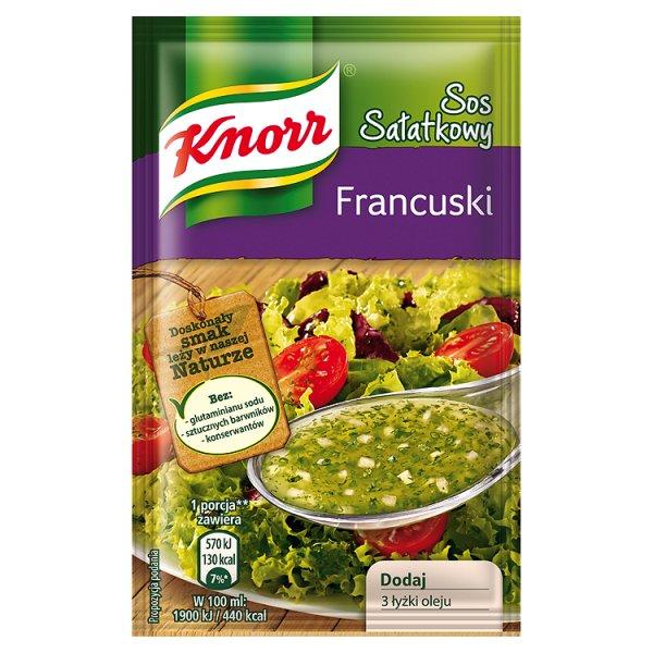 Sos Knorr sałatkowy francuski winegret