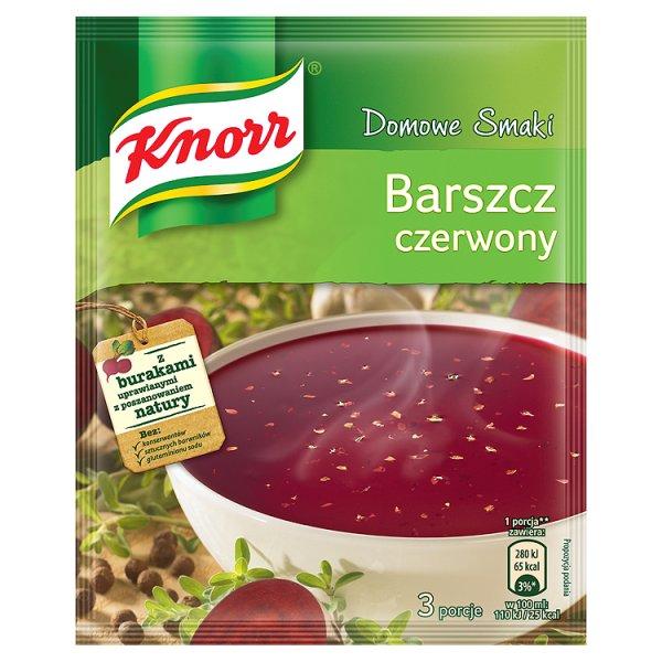 Zupa Knorr domowe smaki barszcz czerwony