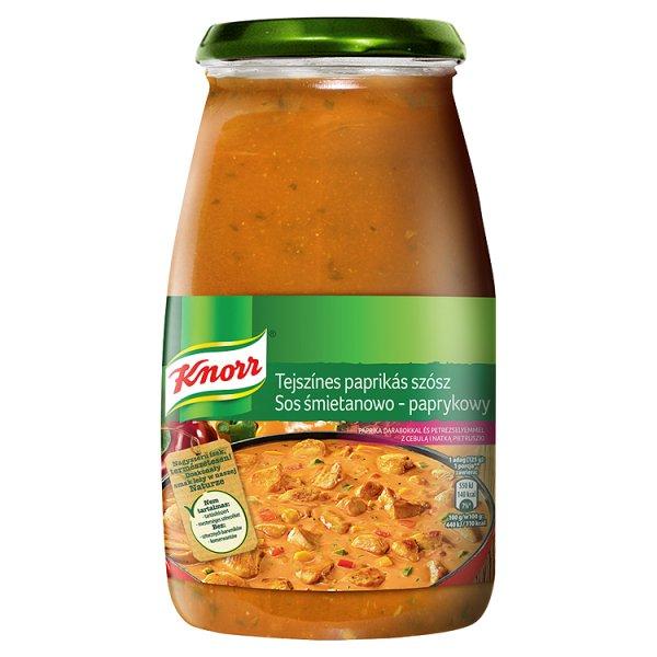 Sos Knorr śmietanowo - paprykowy