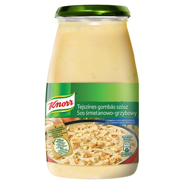Sos Knorr śmietanowo - grzybowy
