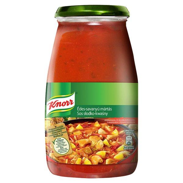 Knorr Sos słodko-kwaśny z ananasem i pędami bambusa 525 g