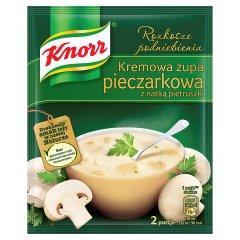 Knorr Rozkosze podniebienia Kremowa zupa pieczarkowa z natką pietruszki 49 g