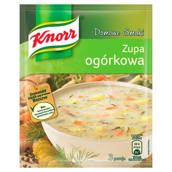 Zupa Knorr ogórkowa
