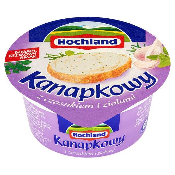 Krem Hochland Kanapkowy z czosnkiem i ziołami